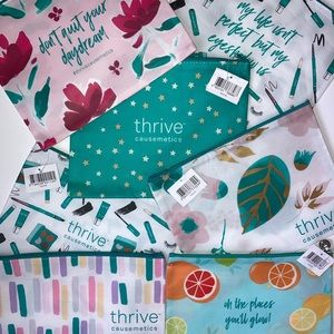 Makeup bags by Thrive